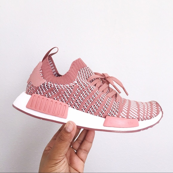 best website 9a076 34073 Adidas NMD R1 STLT PK W Ash Pink Orchid Tint Shoes